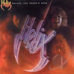 Helix - Walkin' the Razor's Edge CD Cover Art