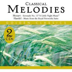 Golden Classics Seri - Classical Melodies CD Cover Art