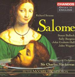 Graham-Hall / Mackerras / PAO / Strauss, R. - Richard Strauss: Salome CD Cover Art