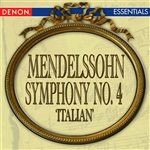 Ermler, Mark - Mendelssohn: Symphony No. 4 'Italian' DB Cover Art