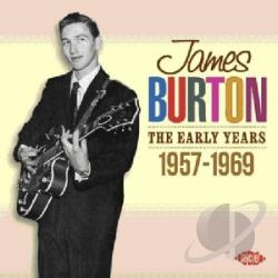 Burton, James - Early Years: 1957-1969 CD Cover Art