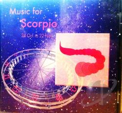 Music For Scorpio - Various Artists - New Age CD Cover Art