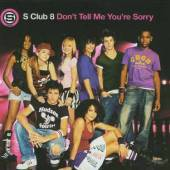 S Club 8 - Don't Tell Me You're Sorry Pt. 1 CD Cover Art