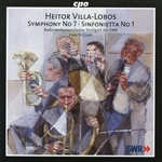 ST. Clair / SWR Radio So Stuttgart / Villa-Lobos - Villa-Lobos: Symphony No. 7; Sinfonietta No. 1 CD Cover Art