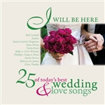 I Will Be Here - 25 Love Songs DB Cover Art