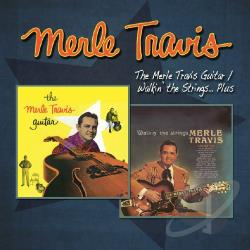 Travis, Merle - Merle Travis Guitar/Walkin the Strings... Plus CD Cover Art