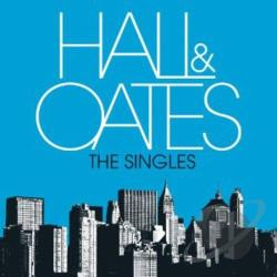 Daryl Hall & John Oates - Singles CD Cover Art