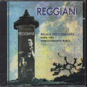 Reggiani, Serge - Palais Des Congres 93 CD Cover Art