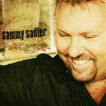 Sadler, Sammy - Heart Shaped Like Texas CD Cover Art