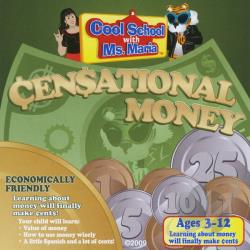 Smith, Maria - Cool School With MS. Maria & Censational Money CD Cover Art