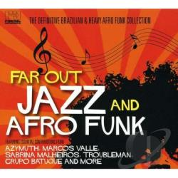 Far Out Jazz & Afro Funk CD Cover Art