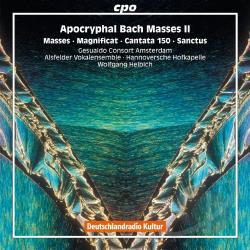 Alsfelder Vokalensemble / Bach / Helbich - Apocryphal Bach Masses, Vol. 2 CD Cover Art