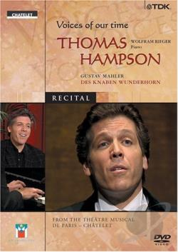 Hampson, Thomas - Voices Of Our Time - Thomas Hampson DVD Cover Art