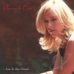 Carr, Amanda - Live in San Giorgio CD Cover Art