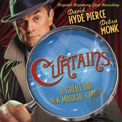 Pierce, David Hyde - Curtains CD Cover Art