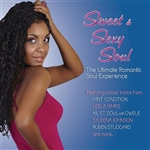 Sweet & Sexy Soul: The Ultimate Romantic Soul Experience CD Cover Art