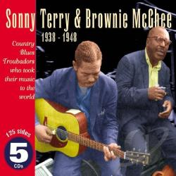 Terry, Sonny - Country Blues Troubadours 1938-1948 CD Cover Art