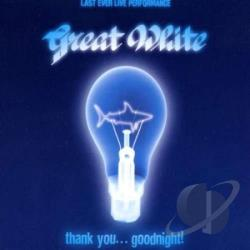 Great White - Thank You Goodnight CD Cover Art