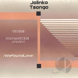 Tsongo, Jolinko - Dancemix: Wefoundlove CD Cover Art