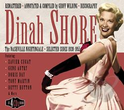 Shore, Dinah - Nashville Nightingale: Selected Sides 1939-1955 CD Cover Art