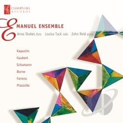 Born / Emanuel Ens / Gaubert / Kapustin / Schumann - Emanuel Ensemble plays Piazzolla, Gaubert, Bizet & Borne CD Cover Art