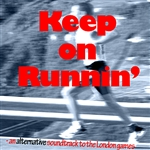 Various Artists - Keep On Runnin' - An Alternative Soundtrack To The London Games DB Cover Art