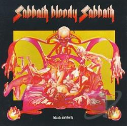 Black Sabbath - Sabbath Bloody Sabbath CD Cover Art