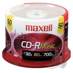Maxell - CD-R - 700MB, 50 Pack Spindle Cover Art