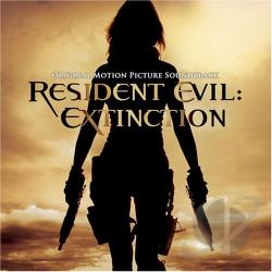 Resident Evil: Extinction CD Cover Art
