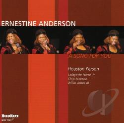 Anderson, Ernestine - Song for You CD Cover Art