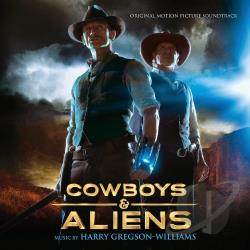 Cowboys & Aliens CD Cover Art