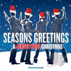 Jersey Boys - Seasons Greetings: A Jersey Boys Christmas CD Cover Art