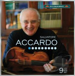 Accardo, Salvatore - Salvatore Accardo CD Cover Art