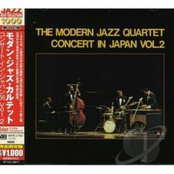 Modern Jazz Quartet - Concert in Japan 2 CD Cover Art