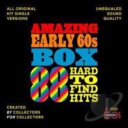 Amazing Early 60s Box: 88 Hard-to-Find Hits CD Cover Art