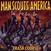 Man Scouts Of America - Crash Course CD Cover Art