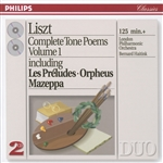 Liszt, Franz - Liszt: Complete Tone Poems Vol 1 / Haitink, London Po CD Cover Art