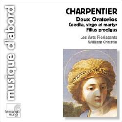 Arts Florissants / Charpentier / Christie - Marc-Antoine Charpentier: Caecilia; Virgo et Martyr; Filius Prodigus CD Cover Art