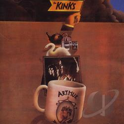 Kinks - Arthur (Or the Decline and Fall of the British Empire) CD Cover Art