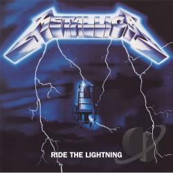 Metallica - Ride the Lightning LP Cover Art