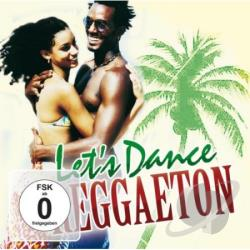 Lets Dance Reggaeton CD Cover Art