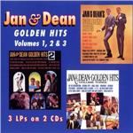 Jan & Dean - Golden Hits: Volumes 1, 2, & 3 DB Cover Art