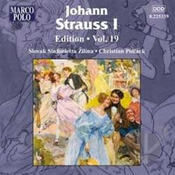 Pollack / Strauss - Johann Strauss I Edition, Vol. 19 CD Cover Art