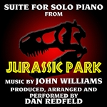 Dan Redfeld - Jurassic Park: Suite For Solo Piano  DB Cover Art