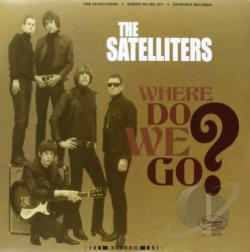 Satelliters - Where Do We Go? LP Cover Art
