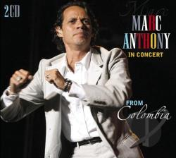 Anthony, Marc - In Concert From Colombia - Cali/Bogota CD Cover Art