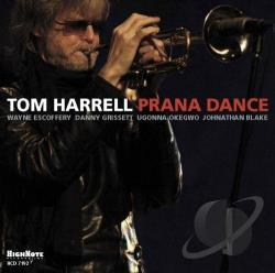 Harrell, Tom - Prana Dance CD Cover Art