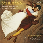 Bayerische Staatsphilharmonie / Schumann - Schumann: Works for Piano and Orchestra CD Cover Art