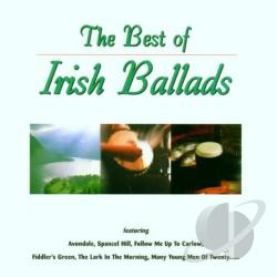 Ahern, John - Best of Irish Ballads CD Cover Art