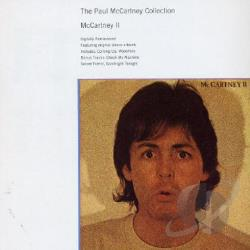 McCartney, Paul - McCartney II CD Cover Art
